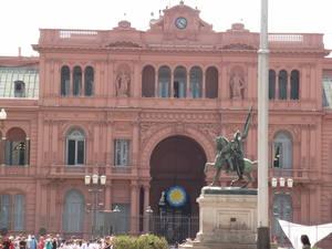 Sede da presidencia argentina