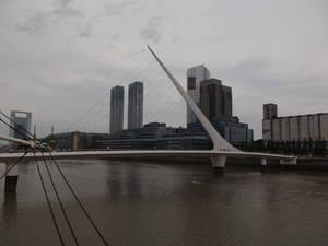 A ponte mais conhecida da cidade