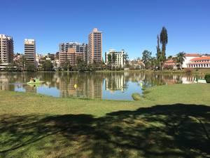 Linda imagem do parque