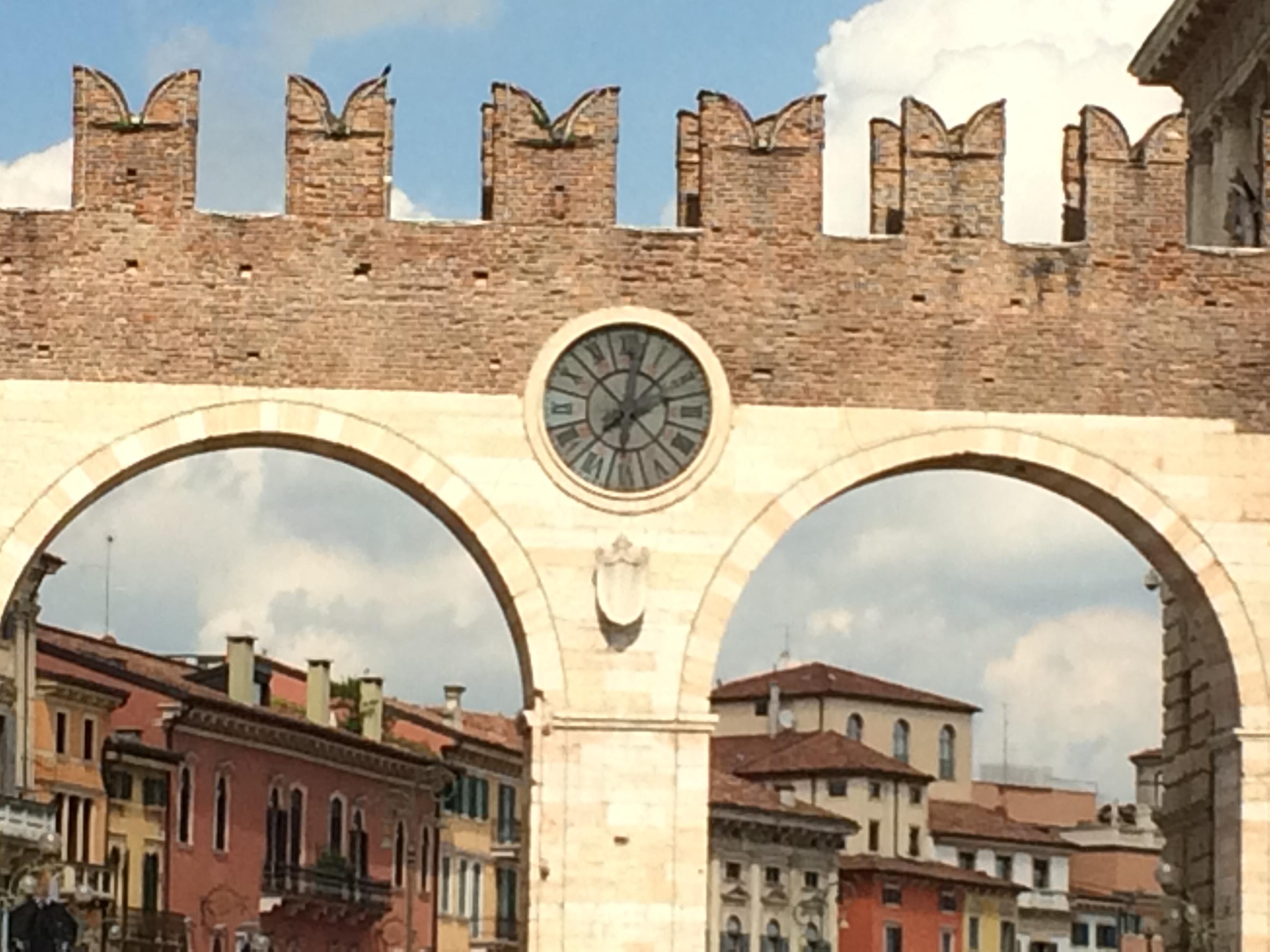 A cidade de Romeu e Julieta
