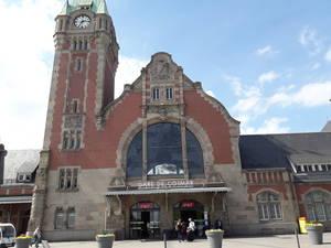 Estação de trem em Colmar