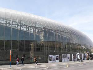 já vale a visita só pela arquitetura da Estação de Estrasburgo