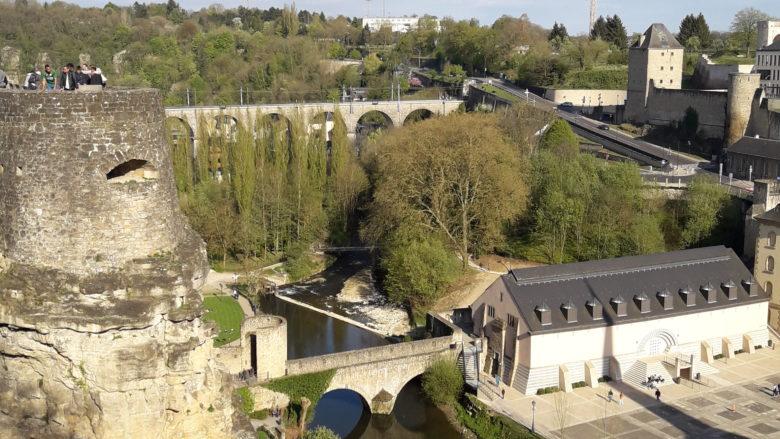 A cidade dos condado de Luxemburgo é linda